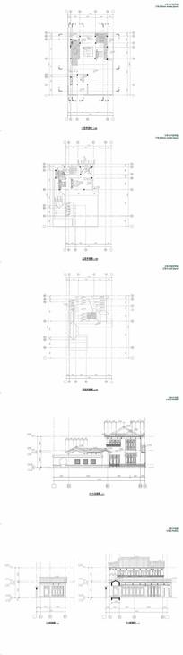 两层中式别墅住宅设计
