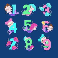 美人鱼数字设计