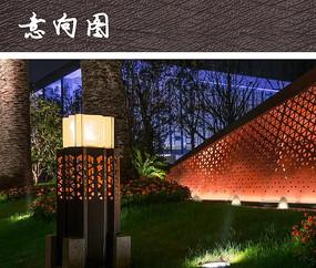 现代精美草坪灯具
