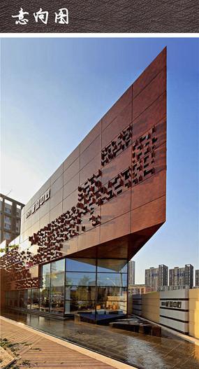 现代商业建筑立面