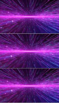 4K唯美粉色梦幻粒子星空背景视频