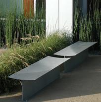 极简金属座凳