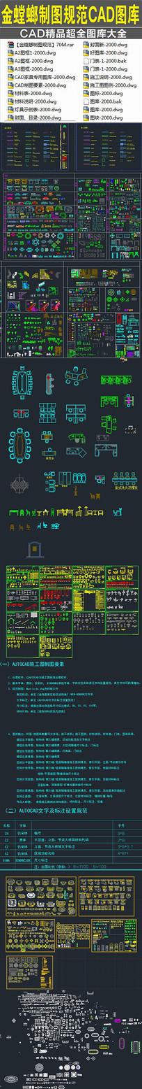 金螳螂制图规范CAD图库