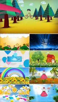 六一儿童节快乐成长视频素材