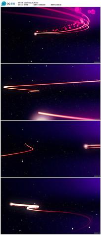 粒子光束游走动画视频 mov