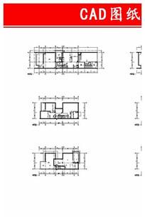 平面施工图CAD