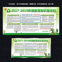 生态环境环保教育宣传栏展板