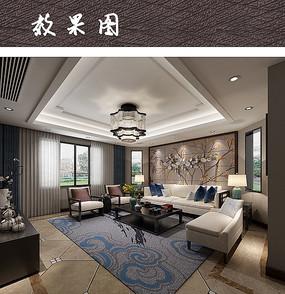 素雅现代客厅