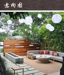现代景观庭院