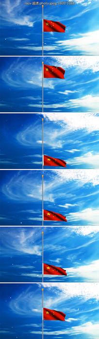 中华人民共和国国歌视频背景