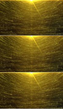 4K金色粒子光线颁奖背景视频