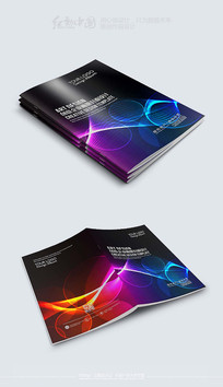 大气时尚企业画册封面素材