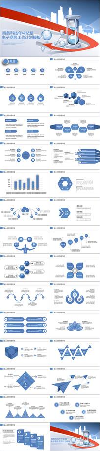 互联网云计算大数据科技PPT
