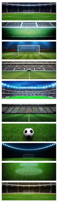 体育足球场banner