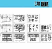 3层医院病房楼建筑施工图