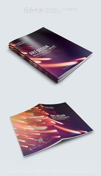 动感大气画册封面模板