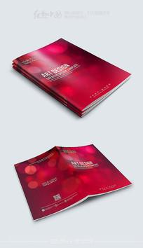 红色温馨婚庆画册封面模板