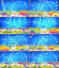 六一儿童节舞蹈少儿节目背景视频