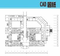 门急诊综合大楼二层平面图 dwg
