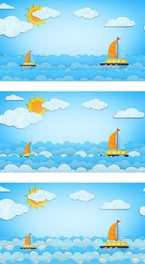庆六一扬帆远航让我们荡起双桨视频