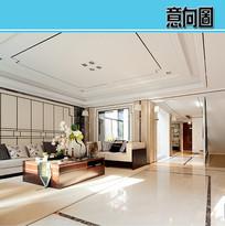 新中式风格别墅 JPG