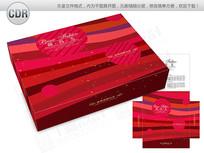 保暖内衣服装礼盒包装设计 CDR