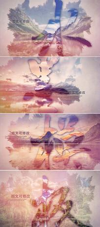 大气水墨中国风宣传片模板