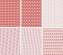 中国风花纹装饰图案