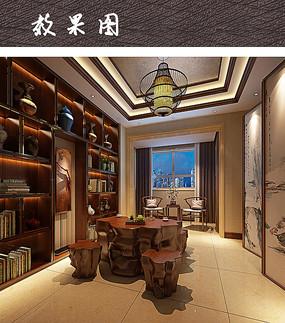 书房茶室设计