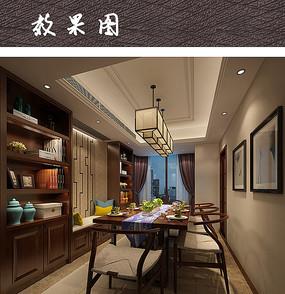 中式家具餐厅