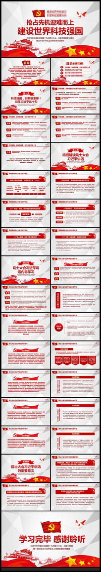 中国科学院院士大会PPT