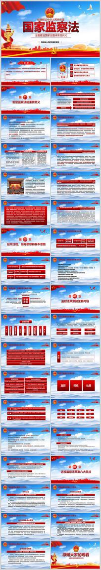 中国监察法逐条解读两会PPT