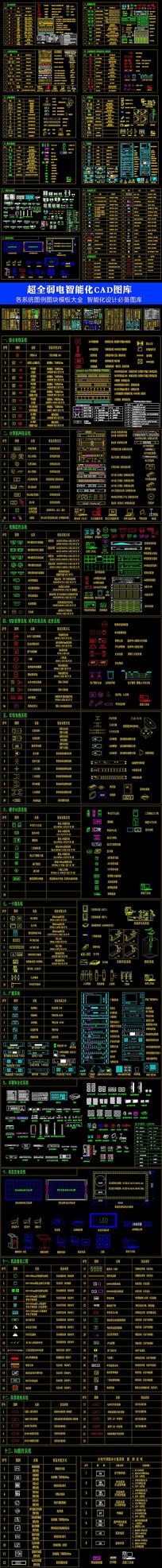超全弱电智能化系统图库
