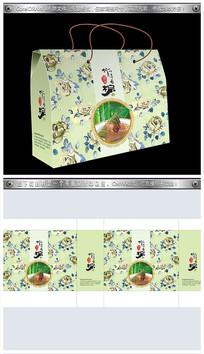 端午节粽子包装设计素材