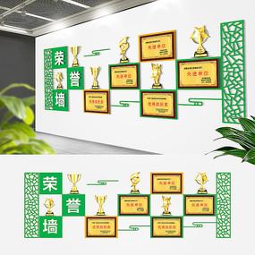 环保企业荣誉文化墙
