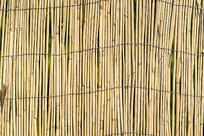 竹墙护栏纹理背景图