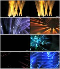 动感大气舞台灯光秀视频素材