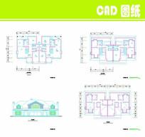 大型美式别墅图纸
