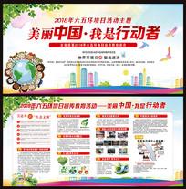 世界环境日宣传栏