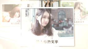 唯美写真相册展示AE模板