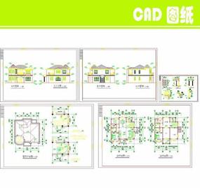 小别墅建筑施工图
