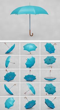 16视角高清雨伞太阳伞样机
