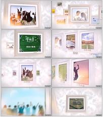 AE模板毕业典礼照片相册视频