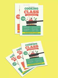 餐饮烧烤炒菜海报设计