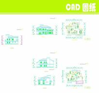 单个建筑CAD