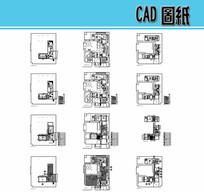 室内设计CAD图纸