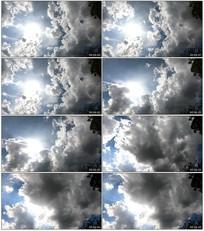 蓝天白云实拍素材