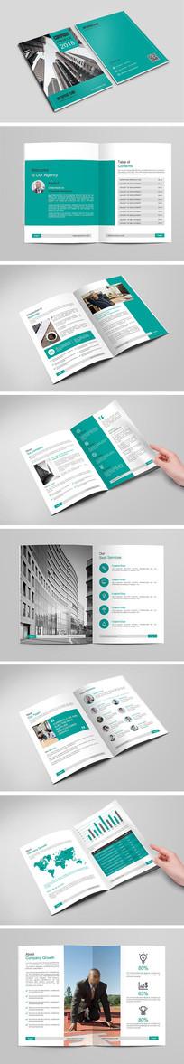 企业招商宣传画册设计