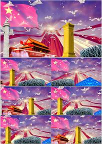 美丽中国红歌配乐成品