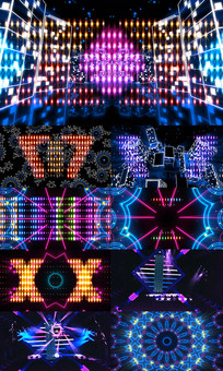 动感夜店酒吧LED舞台